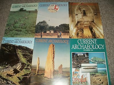 Current Archaeology Magazines Issues 105-110  1987/88