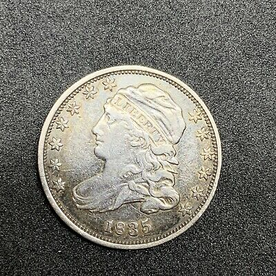 1835 Capped Bust Dime, Beautiful