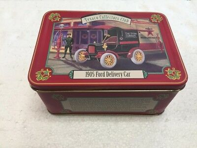 Texaco Collectors Club 1905 Ford Delivery Car with Tin Case