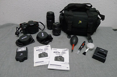 Canon EOS Rebel T6 18.0MP DSLR Camera Kit w/ 18-55mm & 75-300 and MORE!! Bundle^