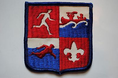 BSA Vintage Boy Scouts patch Games canoe swimming A-88 olympics decathlon LOT 15