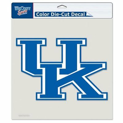 """Kentucky Wildcats Decal 8x8 Color 8""""x8"""" Die Cut Decal Sticker FAST SHIP"""