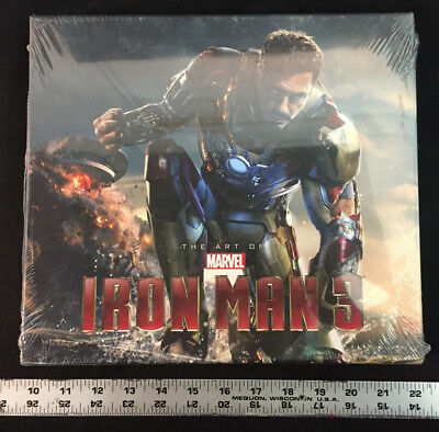 The Art of Marvel's Iron Man 3, Hardcover, Slipcase, Full Color Photos, Unopened