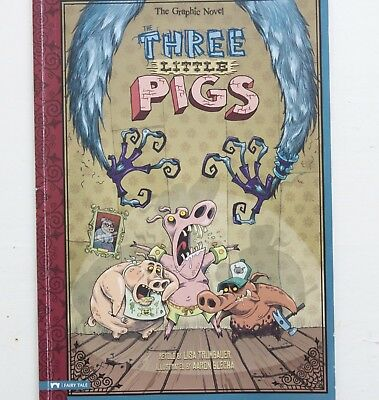 The Three Little Pigs by Lisa Trumbauer, Aaron Blecha