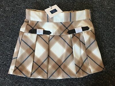 Janie And Jack Highlands Darling Plaid Skirt Nwt