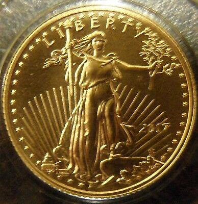 1/10 oz 2017 American Gold Eagle coin