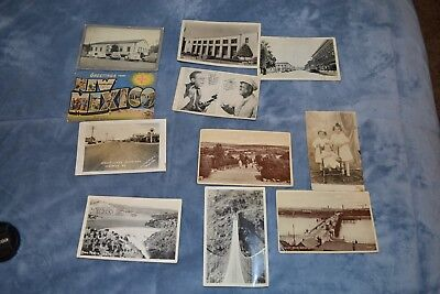 Lot Of 11 Vintage Postcards Some Used & Some New.