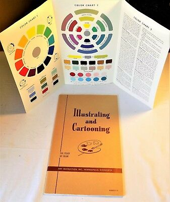 Illustrating and Cartooning Instruction Book #12 The Study of Color