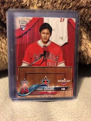 SHOHEI OHTANI 2018 Topps Opening Day RC Rookie Card Los Angeles Angels Otani