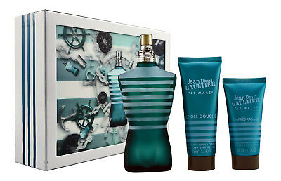 Jean Paul Gaultier Le Male 125 ml EDT & Shower Gel 75ml & After Shave Balm 50ml