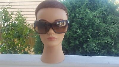 Women's Versace Mod 4098-B sunglasses with rhinestone accents