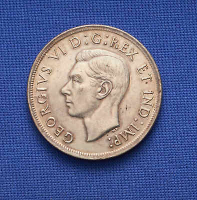 1939 Canadian Silver Dollar. Choice. No Reserve.