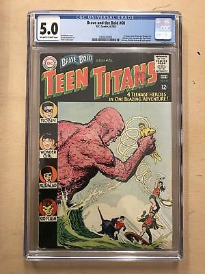 Brave & The Bold #60 ⭐️ CGC 5.0 ⭐️ 1st First Donna Troy ⭐️ DC