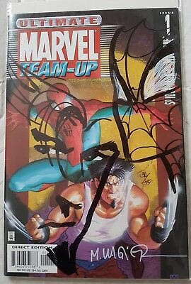 Ultimate Spiderman and Wolverine Re-marked Edition Ltd 49