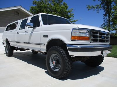 1994 Ford F-350 4X4 Crew Cab California Survivor NO RESERVE Original Paint Garaged CA Truck Pickup Long Bed Crewcab Very Nice Example