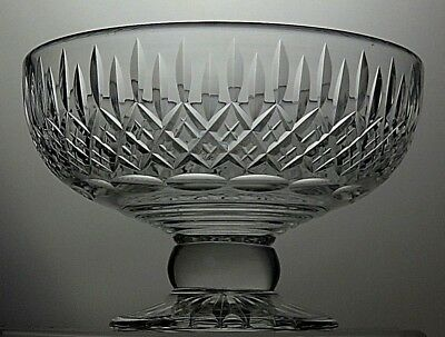 Stuart Crystal Shaftesbury Pattern Cut Glass Footed Fruit Salad Bowl