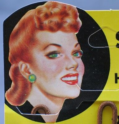 Vintage New Old Stock Solo Comfy Hair Rollers -- Mint on the Card -- Never used