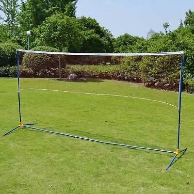 Portable Training 3-in-1 Volleyball Badminton Net Set