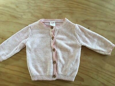Girls Seed Cardigan Size 00 3-6 Months
