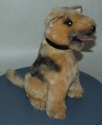 Vintage 1975 DAKIN Plush Dog GERMAN SHEPHERD