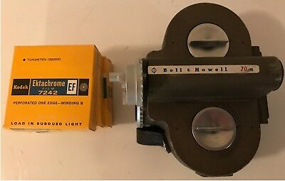 Bell & Howell Filmo 70HR Projector 16mm Cine Movie Camera With Fiim Tested