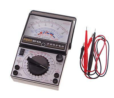 (1)  Volt Ohm Amp AC DC Battery Tester Meter Gauge Analog Multimeter