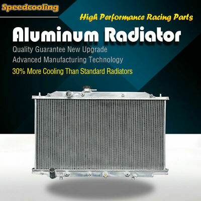 2571 Aluminum Radiator For Honda Accord EX LX V6 3.0L 03-07 J30A4 J30A5
