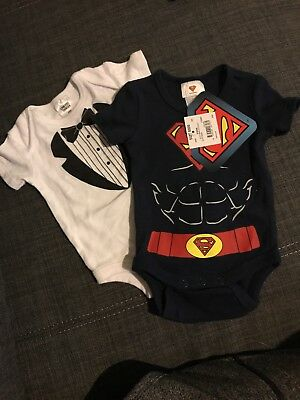 Baby Boys Clothing Size 0000 Newborn  Superman and tux