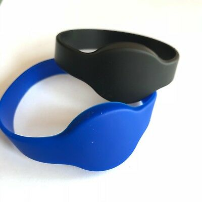 RFID Rewritable 125khz writable T5577 Silicone Wristbands Duplicator Tag -5pcs