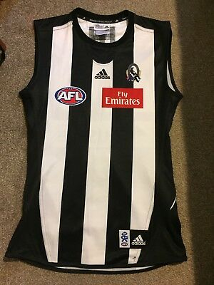 2010 Adidas Collingwood #28 Danny Stanley Player Issue Guernsey Size L