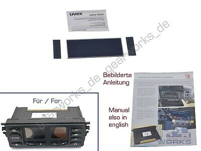 Display for Porsche 911/996 Air Conditioning Control Unit/Climate / LCD V1 With