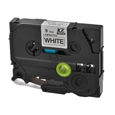 TZ221 TZe-221 9mm 8m Label Tape Cartridge Compatible for Brother P-Touch HS1160