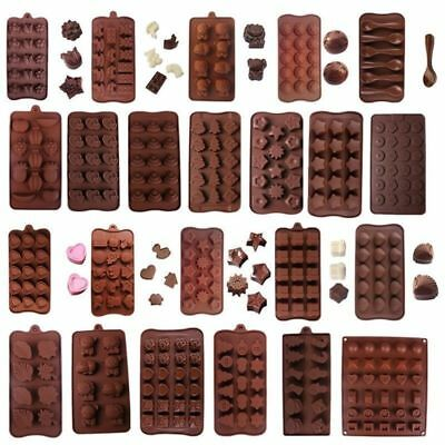 Silicone Cake Decor Moulds Candy Cookies Chocolate Fondant DIY Baking Mold