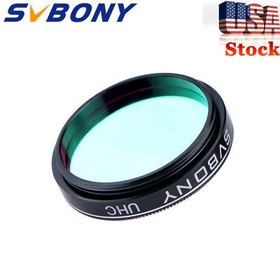 "New!1.25"" UHC Telescope Eyepiece Filter Ultra High Contrast Cuts Light Pollution"