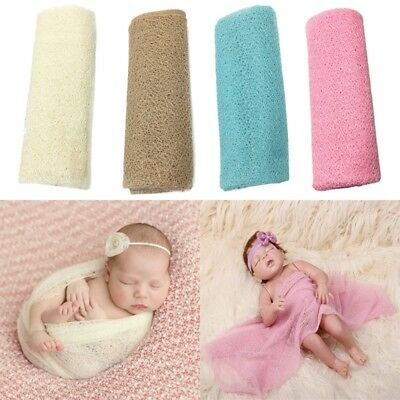 Newborn Baby Photography Props Blanket Rayon Stretch Knit Wraps