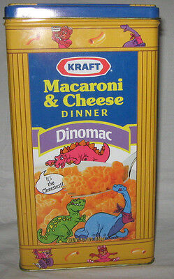 Kraft Macaroni & Cheese Dinomac & Original Dinner Tin