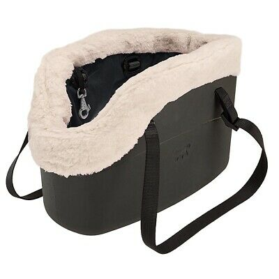 Calda borsa trasportino cane gatto Ferplast With-Me Winter soffice rivestimento