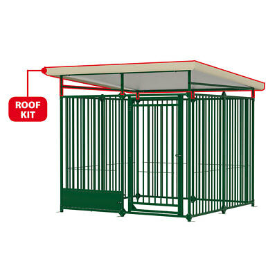Tetto lamiera recinto modulare esterno cane cani Ferplast DOG PEN ROOF KIT