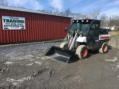 2007 Bobcat 5600 Toolcat 4x4 Diesel Utility Vehicle w/ Loader & Salt Box!