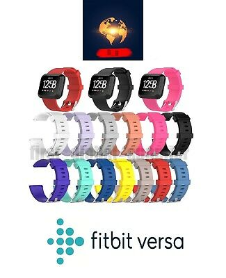 For Fitbit Versa Silicone Sports Fitness Replacement Band Wrist Strap UK
