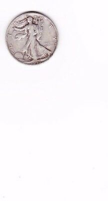 1933-s Walking Liberty Half 90 % silver (sold as each) you get one coin