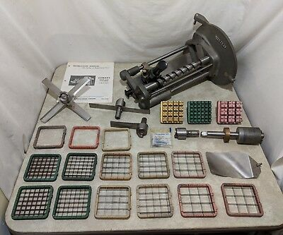 Hobart Power Slicer/Dicer Attachment with Many Blades and Attachments
