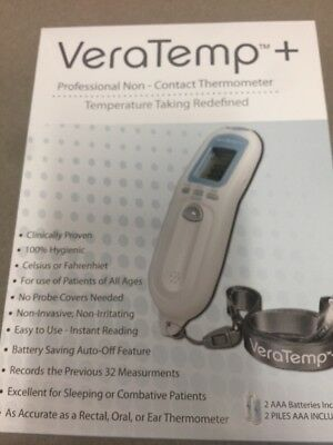 Brand New Non-Contact Thermometer FREE Batteries VeraTemp