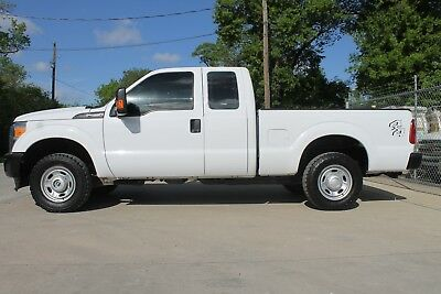 2015 Ford F-250 XL 2015 FORD F-250 SUPER DUTY XCAB XL 4WD