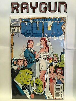 Incredible Hulk #418 VF+/NM- 1st Print Marvel Comics