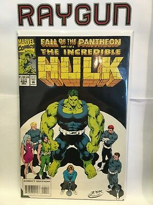 Incredible Hulk #424 VF+/NM- 1st Print Marvel Comics