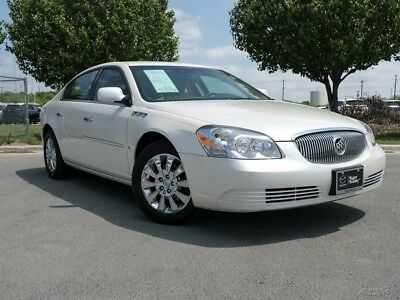 Buick Lucerne CXL Special Edition 2009 Buick Lucerne CXL Special Edition 3.9L V6 12V Automatic Drive Sedan White
