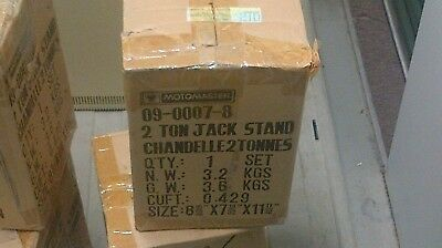 Set of 4 jack stands