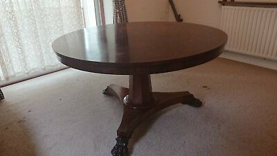 Large Victorian Rosewood tilt breakfast/dinning table