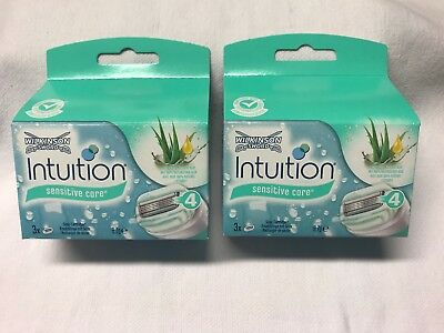 WILKINSON Sword Intuition Sensitive Care RASIERKLINGEN, 6 Stück, OVP